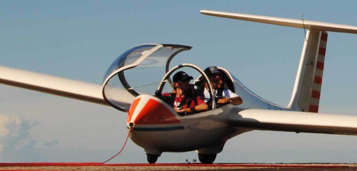 Inspeção de Saúde para Piloto de Planador